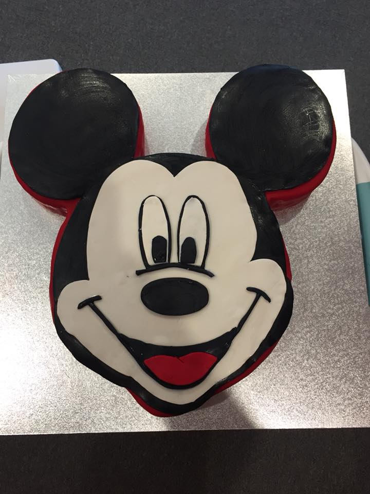 Crystal's Mickey Mouse Cake
