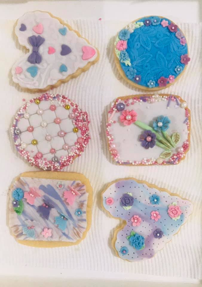 Mariette's Decorated Biscuits